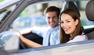 Appointment system for car hire and test drives